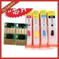 1Set 4pcs For HP 178  Refill ink cartridge for HP Photosmart 5510/5515/6510//B109a/ B109n/B110a/B209a/B210a printer with chip