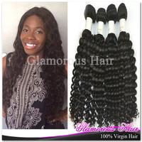 12''-34'' 10pcs/lot Unprocessed Virgin Malaysian Hair #1b Wholesale Hair Products Cheap Malaysian Curly Virgin Hair