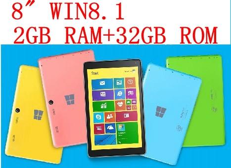 WinPad A1 MINI Version WIFI 2GB RAM 32GB ROM Intel Quad-Core Win8 Tablet PC 8-Inch Stock Free Shipping(China (Mainland))
