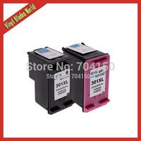 1set Compatible ink cartridges for HP 301 301XL Black & Colour  For hp Deskjet 1050 2000 3000 3050 2050A 2054A 3050A 3052A 3054A