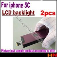 2pcs Wholesale price LCD backlight for iphone 5c 5gc Repair part refurbishment