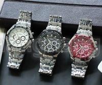 CURREN Brand Men military watch Fashion Men Quartz Adjustable men sports watches Full Steel Men Watch Casual Reloj Free Shiping