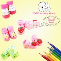 Cartoon socks newborn baby socks meias doll socks Full five piece get one free