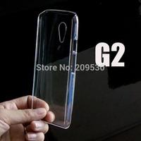 New Transparent Clear Crystal plastic hard case cover For Motorola Moto G2 XT1063 XT1068 XT1069