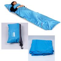 New Practical Light Weighted Single Silky Liner Sleeping Bag Hostel Travel Camping Inner Sheet Sack #62390