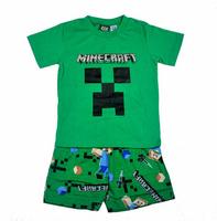 Free shipping childrens sets boys short sleeve top + pants summer pajamas pyjamas sleepwear set Black Green 4 sets/lot