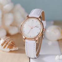 New Designer Luxury Brand Women Watches Luxury White Leather Strap Alloy Quartz Tower Hot Sale Elegant Gift For Female Clock