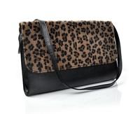 New Arraving Leopard Clutch Shoulder bags Multifunction Folding Woman Handbags Purse Handbag Bag Free Shipping SV22