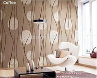 European Simple Circle Strip 3D PVC Waterproof Embossed Wallpaper Home Decor/Vinyl Mural Wallpaper For TV Background Living Room