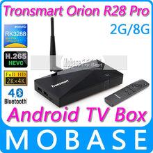 Tronsmart Orion R28 Pro Android TV Box RK3288 Quad Core Smart TV IPTV XBMC 1.8GHz 2G/8G HDMI H.265 WiFi OTG AV Medi