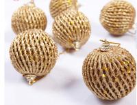 Christmas balls 6cm  24pcs /set  solid color gold blue red pink color  decor chistamas  tree home  decorations