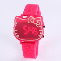 Watch Woman fashion digital Girl watches women dress led cartoon watch casual Wristwatches relogio feminino