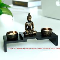 Free Shipping/ Buddha candlestick/Chinese zen Buddha/candlestick incense