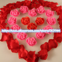 Free Shipping/Stereo rose candle/romantic rose to marry candle
