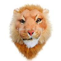 Cool style Lion head cartoon men's backpack animal backpack student school bag
