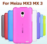 Ultra Thin PC Hard Case for Meizu MX3 MX 3 colorful plastic back skin cover protector 8 colors for select Free shipping