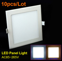 10pcs/lot 25W LED Square Downlight Panel lighting ceiling lamp AC85-265V Warm /Cool white,indoor lamp  DHL & EMS Shipping