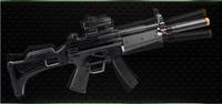 High imitation toy gun / luminous and sounding children submachine gun electric musical toy gun