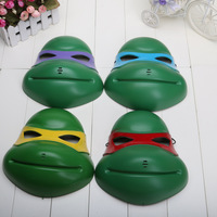 EMS 100pcs Hot Cartoon Teenage Mutant Ninja Turtles Masks Party Dress Mask 4 colors Available for Adult