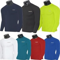 2014 Brand Sport Body Base Layer Thermal Men T-Shirt New Fashion Compression Skins Cool Dry Long Sleeve T-Shirt