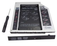 2nd HDD SSD Hard Drive caddy Enclosure for Fujitsu LifeBook T4215 T4220