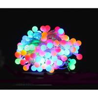 9-10M 56LED 220V EU  plug outdoor holiday string lights RGB colorful Christmas Xmas  Wedding Party Decorations Garland lamp