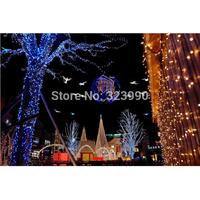 9-10M 100LED 220V EU plug outdoor holiday string lights RGB colorful Christmas Xmas Wedding Party Decorations Garland lamp