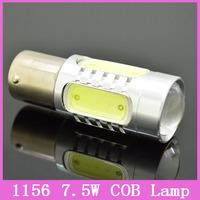 2x S25 1156 Ba15S P21W 7.5W COB Tail Brake Headlight Fog light Auto Car LED Lamps urn Signal Bulbs Replace HID Xenon Packing