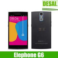 Original Elephone G6 Android 4.4 Octa Core 1.7GHz  1Gb RAM 16Gb ROM Dual Sim 5.0 inch HD 3G WCDMA 13.0MP Smartphone
