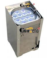 12PCS*3W 3IN1 LED battery power wireless Led Par Light,American DJ Flat Led Par Light