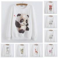 [Anny] 2014 new style fashion women Lovely big tree hoodies 3D cotton printing women's no fleece sweatshirt 21 model