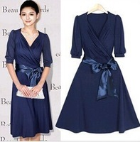 2015 New Women's Temperament Women Cultivate One's Morality Dress Bridesmaid Dress Sell Like Hot Cakes Big S star Deluxe Edition