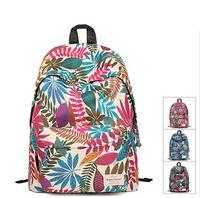 supreme New Arrival Fashion Flower Nylon Backpack Women herschel Backpack School Bag Big Student Book Bag Female Shoulder Bag