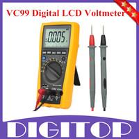 VC99 3 6/7 Auto Range Digital LCD Voltmeter Multimeter Thermometer Capacitance Resistance