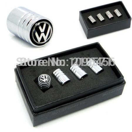 Volkwagen GTI R Logo Car Tyre Tire Valve Stems Caps For VW Golf 7,Tiguan,LAVIDA, Golf 6, GTI, CC, POLO,BORA, PASSAT(China (Mainland))