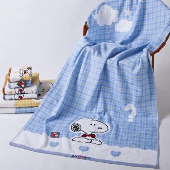 Famous brand Kingshore bath towel brand 100% cotton gauze bath towel SN3049WH Christmas gift(China (Mainland))