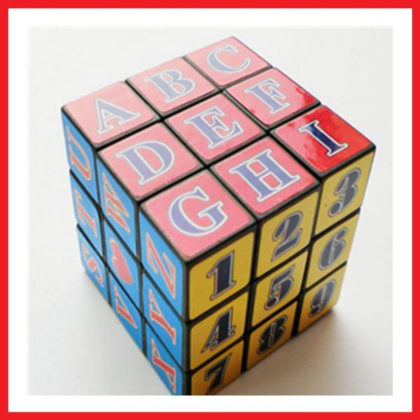 High quality wholesale magic puzzle cube,promotional magic cube(China (Mainland))
