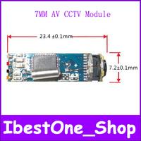 Factory Outlet wholesale Newest Mini 7mm AV Out Endoscope Module 6LED lights 720(H)x576(V)(N) CCTV Camera Module