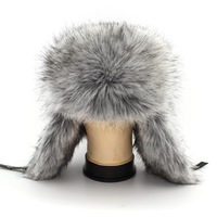 Fur Cap Adventure Time Hat New Fashion Cold Proof Russian Hat Winter Ear Protect Helmet Cap Warm Faux Men with free Shipping