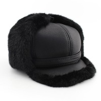 2014 Time-limited Limited Hats for Adventure Time Hat Cap Winter Cap Men Warm Hat with Ear Flaps Mens Faux for free Shipping