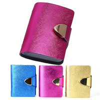 Free shipping Fashion GENUINE LEAHTER Credit Name Business Metal edge Credit Card ID Holders Wallet Promotion Gifts LQ5