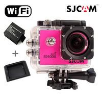 In Stock! Original WiFi Version SJCAM SJ4000 Full-HD 1080P Diving 30M Water Resistant Mini Sports DV Gopro Style Action Camera