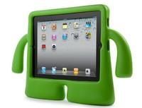 2014 Latest 3D TV Shape Cute Cartoon  Kids Safe Foam EVA Shock proof Handle iguy stand Case Cover  Silicone soft  for Ipad 2 3 4