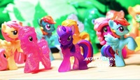 10~20 PCS Different  Little Horse Loose Toys Very Cute Action Figures FA0002