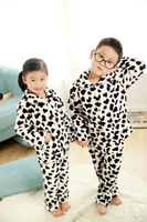 2014 New Style Autumn & Winter Fashion Boy & Girl Pajamas Clothes Children's Long Sleeve Sleepwear Nightgown for Baby Size 6-20