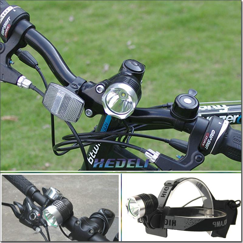 Фара для велосипеда HEDELI T6 2000 Lanterna HT301HE HT301A2