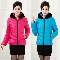 6XL XXXL 4XL 5XL Plus Size Women Clothing wadded jacket short design female winter down cotton plus size cotton-padded jacket