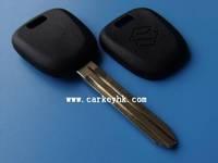 Hot sale with Best quality Suzuki transponder key shell for chave do carro suzuki