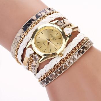 Горячая распродажа зерна леопарда тканые новинка дизайн новые прибытия женщины люксовый бренд кварцевые наручные часы женщины платье часы XR621