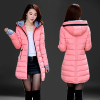 2014 New Women Winter Outwear Women Fashion Beautiful Lady Slim Coat jacket Outerwear Long sleeve Thick Jackets L, XL, XXL, XXXL